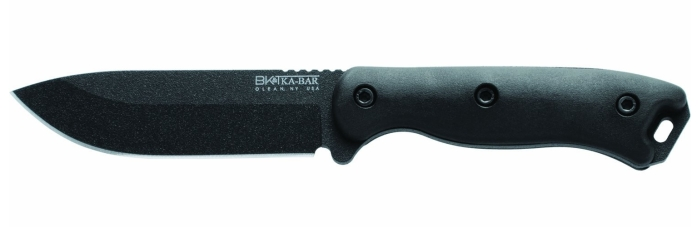 Il coltello da campo KA-BAR BK-16 Short Becker con lama al carbonio 1095 Cr-V e punta a goccia (Drop Point)