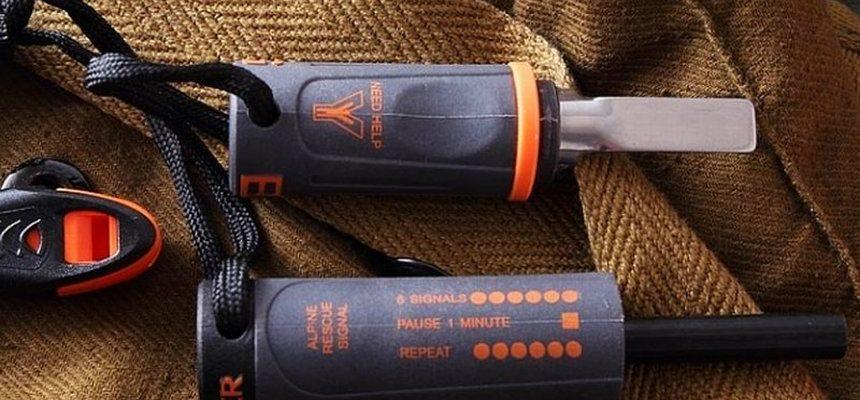 Acciarino tascabile da campo Gerber Bear Grylls Fire Starter