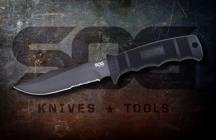 Il marchio americano SOG, produttore di coltelli militari e tattici per forze dell'ordine e forze speciali armate