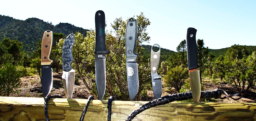 I migliori coltelli militari, tattici, da caccia e survival, tutti insieme in un'unica tabella: non è una meraviglia?