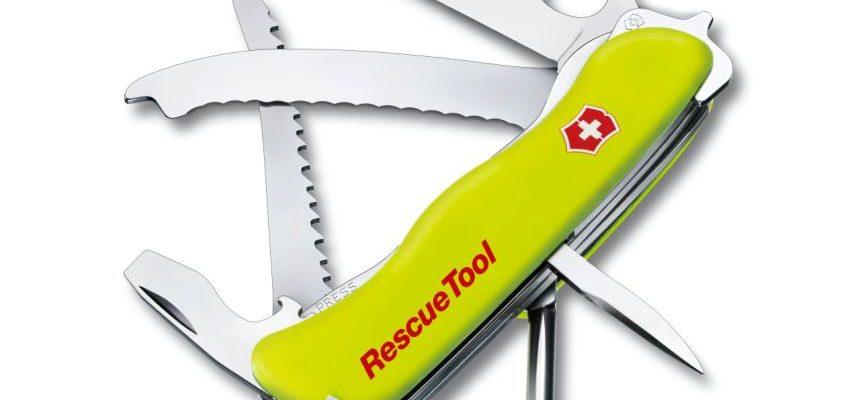 Coltellino svizzero d'emergenza Victorinox Rescue Tool con 13 funzioni
