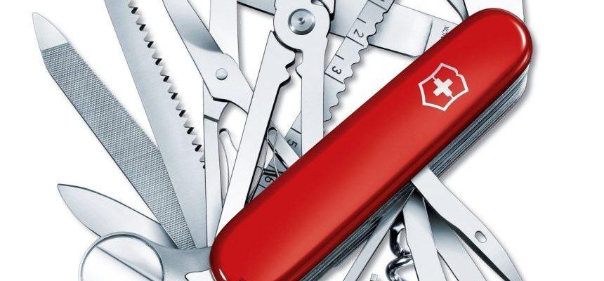 Coltellino svizzero multiuso Victorinox Swiss Champ con 33 funzioni