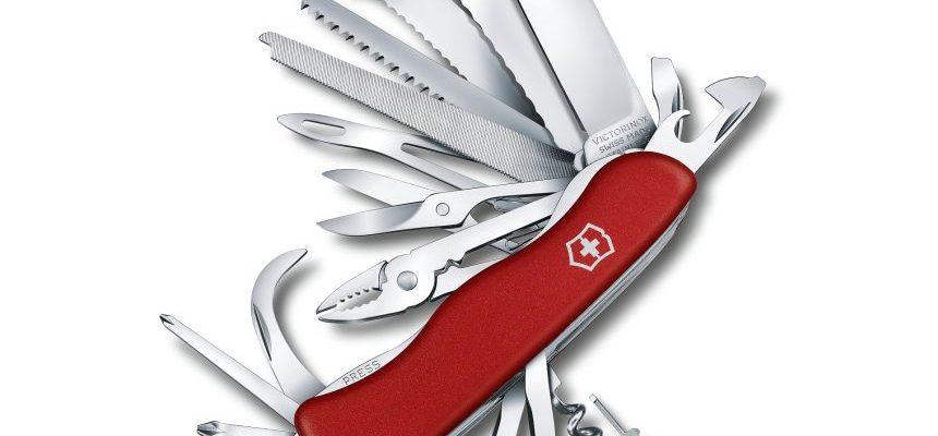 Coltellino svizzero multiuso Victorinox Work Champ XL rosso con 31 funzioni
