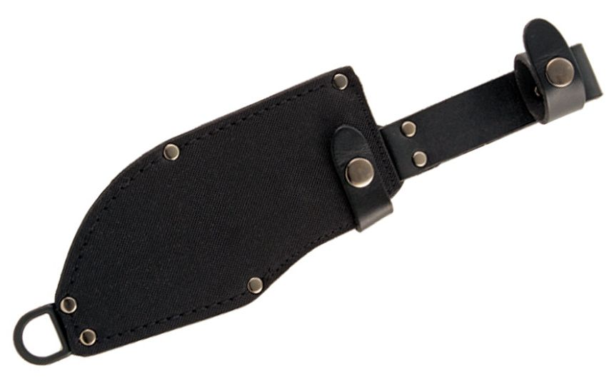 Il fodero in Cordura® e pelle del coltello bushcraft KA-BAR 1278 Heavy Duty Warthog