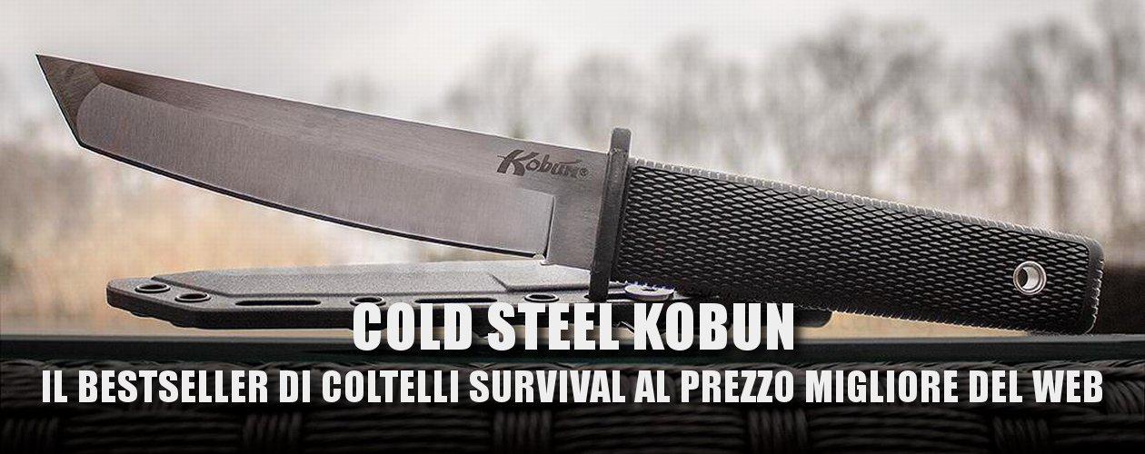 Coltello Cold Steel Kobun bestseller al prezzo più basso del web. Miglior coltello militare survival da stivale.