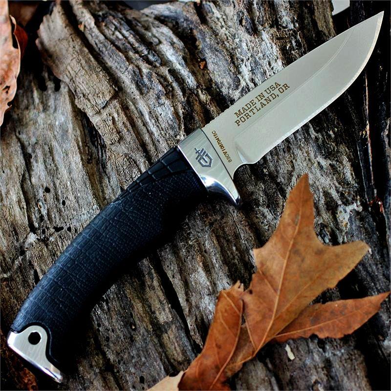 Il migliore coltello da caccia Gerber Gator Premium con lama in acciaio CPM-S30V a prezzo basso e scontato