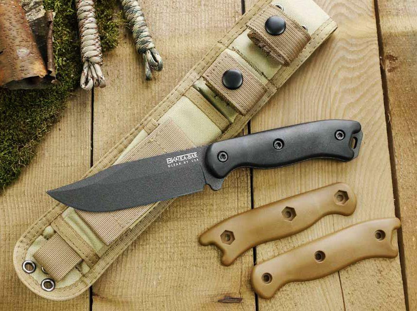 Il coltello da campo KA-BAR BK17 Short Becker nel suo ambiente naturale
