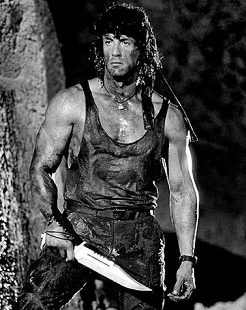 Sylvester Stallone in Rambo III
