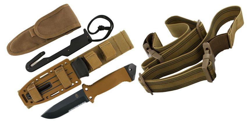 Non manca niente: ecco il vostro coltello Gerber LMF II Survival con tutti gli accessori a corredo