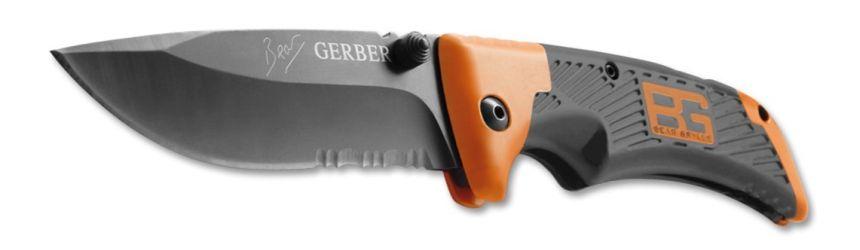 Il coltello a serramanico Gerber Bear Grylls Scout tascabile, ideale per uscite survival e per il campeggio