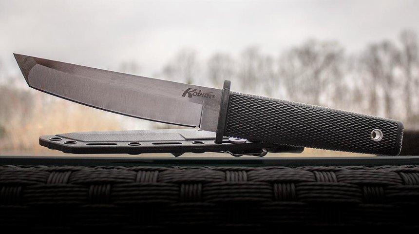 Il coltello Kobun a punta Tanto, senza ombra di dubbio il bestseller italiano di Cold Steel