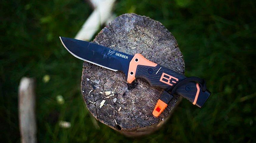 Forse il miglior coltello da sopravvivenza prodotto in collaborazione con Bear Grylls: GERBER Ultimate Pro, super accessoriato, ideale per escursionisti e avventurieri