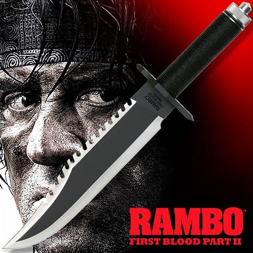 Il coltello usato nel secondo film di Rambo