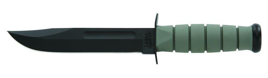 Coltello Tattico KA-BAR 5011 Foliage Green con manico in Kraton G color verde fogliame
