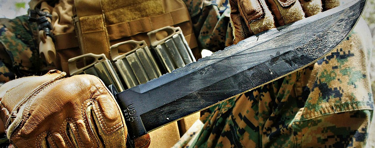 KA-BAR Big Brother Coltello tattico enorme!