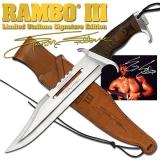 Rambo III - Sylvester Stallone Signature