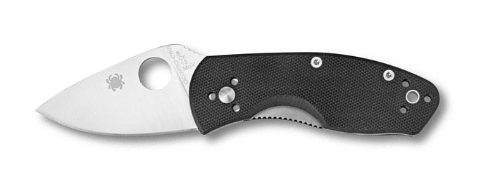 Coltello tascabile a serramanico Spyderco Ambitious C148G
