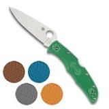 Coltello a serramanico tascabile Spyderco Endura 4 C10FP con guancette in 5 colorazioni differenti