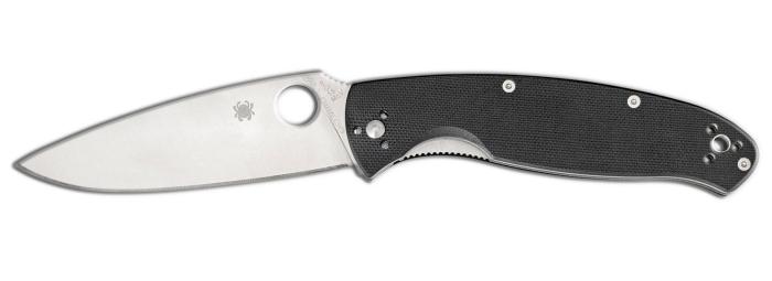 Coltello tascabile a serramanico Spyderco Resilience C142G
