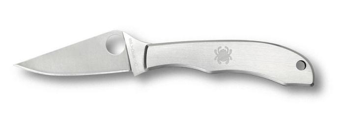 Coltello a serramanico tascabile compatto Spyderco Honeybee SS C137P