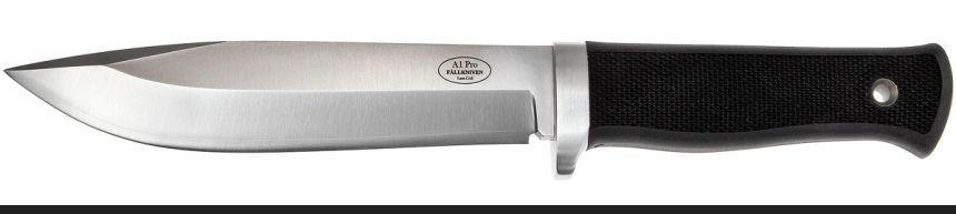 Il migliore coltello survival FÄLLKNIVEN A1 PRO, lama in acciaio al vanadio VG10 che taglia come un rasoio