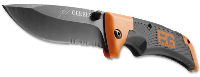 Il coltello a serramanico Gerber Bear Grylls tascabile