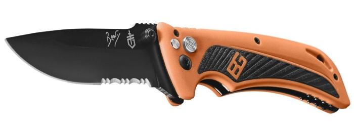 Il coltello a serramanico Gerber Bear Grylls Survival AO con apertura assistita