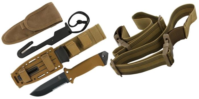 Il Gerber LMF II Survival con tutti gli accessori a corredo