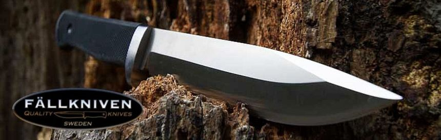 Il migliore coltello survival FÄLLKNIVEN A1 PRO, lama in acciaio al vanadio VG10