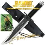 Rambo II - La Vendetta - Sylvester Stallone Signature csv ccc